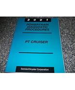 2001 Chrysler PT Cruiser Powertrain Diagnostic Procedure Manual FACTORY ... - $9.80