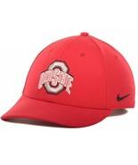 Ohio State Buckeyes Nike Dri-Fit Legacy91 Classic Wool Strapback OSFM Ca... - $21.60