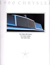 1990 Chrysler NEW YORKER brochure catalog 2nd Edition 90 Fifth Avenue - $8.00