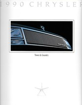 1990 Chrysler TOWN & COUNTRY sales brochure catalog 90  - $6.00