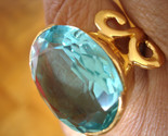 Ring aquamarine horn 2 gold thumb155 crop