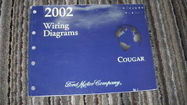 2002 Mercury Cougar Electrical Wiring Diagrams EVTM EWD Shop Service Man... - $37.57