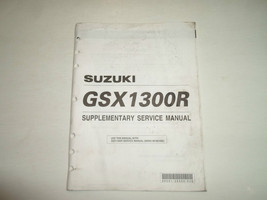 2002 Suzuki Gsx1300 R Supplementary Service Manual Stained Factory Oem Book 02 - $15.79