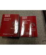 2003 Ford Mustang Gt Cobra Mach Service Shop Repair Manual Set W Facts B... - $267.25