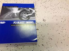 2004 Buell P3 P 3 Blast Parts Service Shop Repair Manual Set W Parts Cat... - $198.00