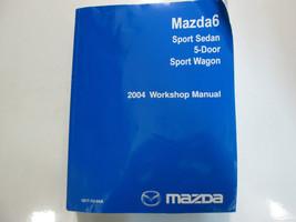 2004 Mazda 6 Mazda6 Sport Sedan Service Repair Shop Manual FACTORY OEM BOOK 04 x - $197.99