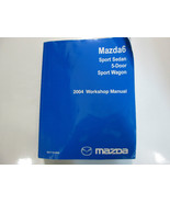 2004 Mazda 6 Mazda6 Sport Sedan Service Repair Shop Manual FACTORY OEM B... - $197.99