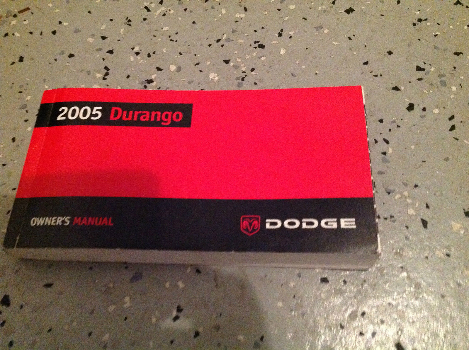 2005 DODGE DURANGO Factory Owners Manual Booklet Glove Box Mopar OEM DODGE x