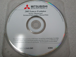 2005 Mitsubishi Galant Service Repair Shop Manual Data CD FACTORY OEM - $73.21
