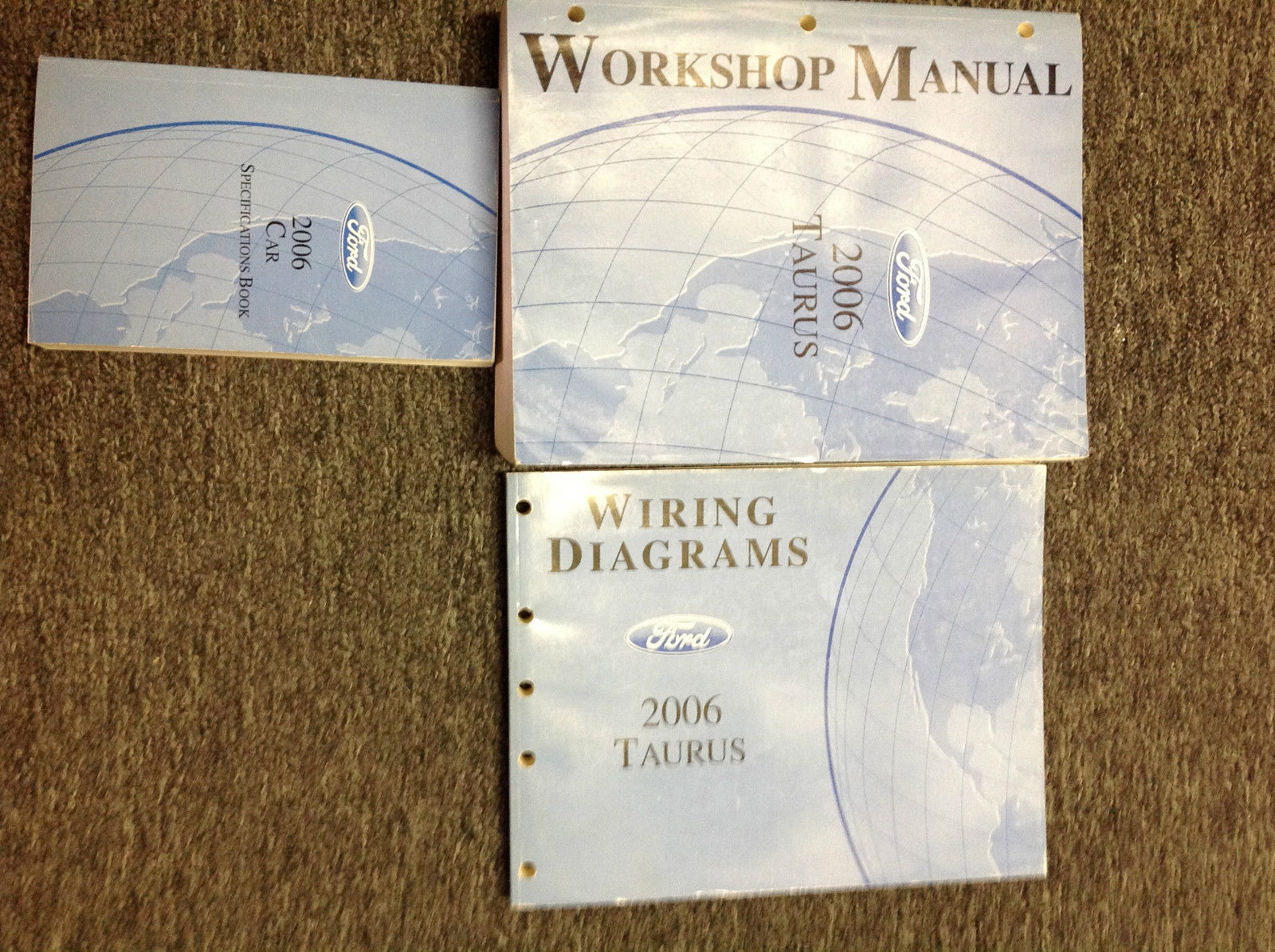 Primary image for 2006 Ford Taurus Service Shop Repair Manual Set W EWD + SPECS BOOK OEM FACTORY