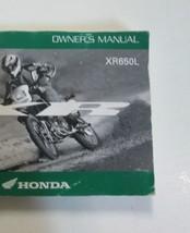 2006 HONDA XR650L Owners Operators Owner Manual Factory OEM Book NEW 2006 - $59.40
