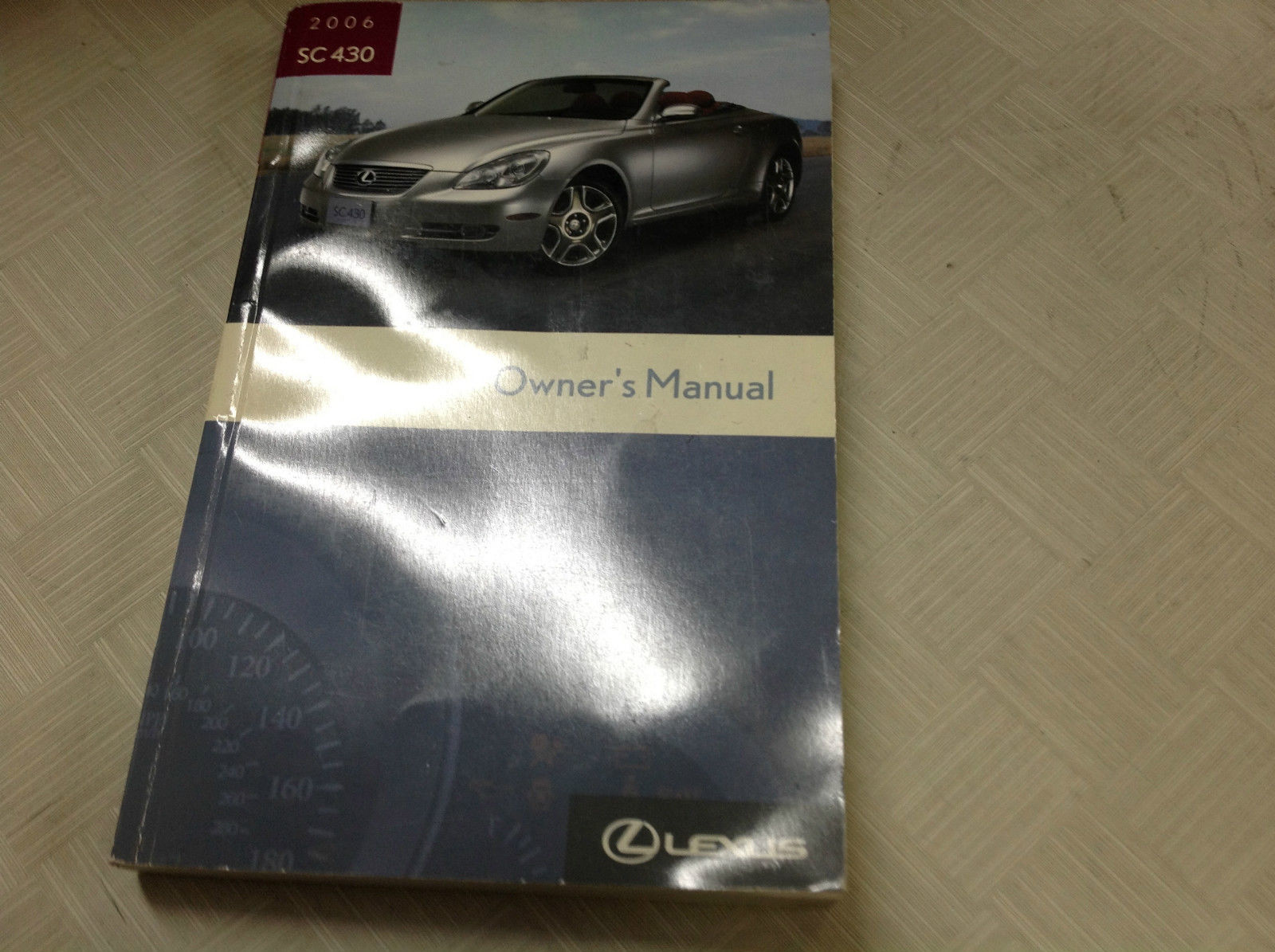 2006 lexus sc430 sc 430 owners manual and 50 similar items rh bonanza com lexus sc430 service manual pdf lexus sc 430 user manual