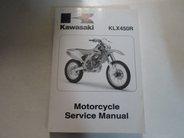 2008 Kawasaki KLX450R Motorcycle Service Repair Shop Workshop Manual Brand New - $143.50