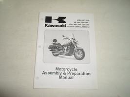 2008 Kawasaki Vulcan 2000 VN2000 Classic LT Assembly & Preparation Manual OEM x - $39.55