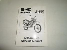 2009 Kawasaki Klx250 S Klx250 Sf Motorcycle Service Repair Shop Manual Factory New - $138.55