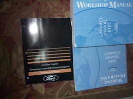 2010 Ford Transit Connect Service Shop Repair Manual Set OEM W PCED & EWD - $277.20