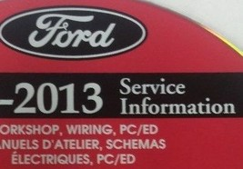 2013 FORD EDGE LINCOLN MKX Service Shop Repair Information Manual ON CD NEW - $277.15