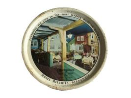 Mortepumpen fancy sea food Hotel Atlantic Stavanger Norway Vintage Metal... - $44.75