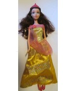 Beauty & the Beast Princess BELLE Doll Disney gown, crown & shoes - $39.99