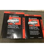 1998 Toyota 4RUNNER 4 RUNNER Service Shop Repair Workshop Manual Set NEW... - $237.55