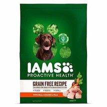 IAMS PROACTIVE HEALTH Adult Dry Dog Food Grain Free Recipe with Real Chicken and