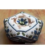 Holmsey's Biscornu cross stitch chart Stitchers Anon Designs - $7.20