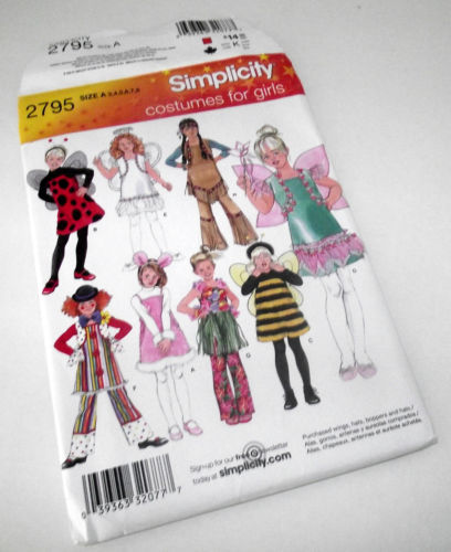 Simplicity 2795 Sewing Pattern: 1 listing