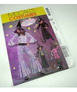 Teen Sassy Witch Costume Pattern 5209 Jr 7-10 McCall's Halloween NEW FRE... - $17.97