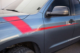 Race Hood Stripes For Toyota Tundra Vinyl Graphic Kit Decal Part 2007-20... - $39.95