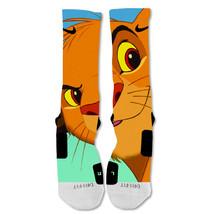 "Nike Elite socks custom Simba  ""Fast Shipping"" - $24.99"