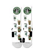 """Nike Elite socks custom Starbucks  """"Fast Shipping"""" - $24.99"""