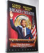 Head of State DVD, 2003, Full Frame, Bernie Mac, Comedy, FREE SHIPPING U... - $6.33