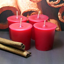 Cinnamon Stick PURE SOY Votives (Set of 4) - $7.00