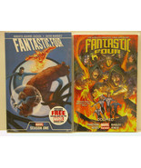 FANTASTIC FOUR - DOOMED AND SEASON 1 - 2 GRAPHIC NOVEL - FREE SHIPPING - $18.70