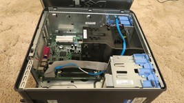 Dell Optiplex GX620 Desktop Chassic Case Housing & Motherboard (Parts Only) - $49.45