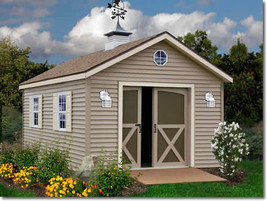 Best Barns South Dakota 12x16 Vinyl Siding Shed Kit - $3,364.95