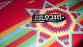 GE Black RC24914-E 4 Device Universal Remote - TV, Cable/SAT, DVD, DVR/AUX - $7.70