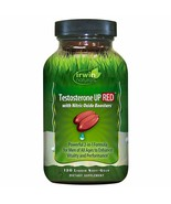 Irwin Naturals Testosterone UP RED Men's Booster Supplement w/ Nitric Ox... - $52.91