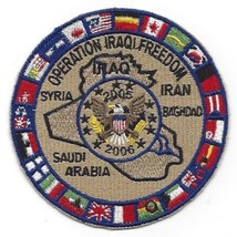 OIF Operation Iraqi Freedom Multi-National Force 2005-06 Patch - $10.68