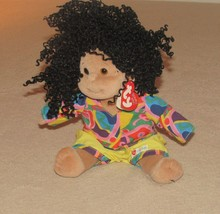 Ty Beanie Kids Calypso African American Girl Doll Plush New with tag   - $5.89