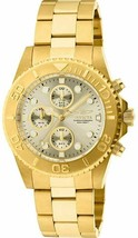 Invicta Men's 1774 ProDiver Collection 18k Gold Ion-Plated Stainless Steel Watch - $79.91