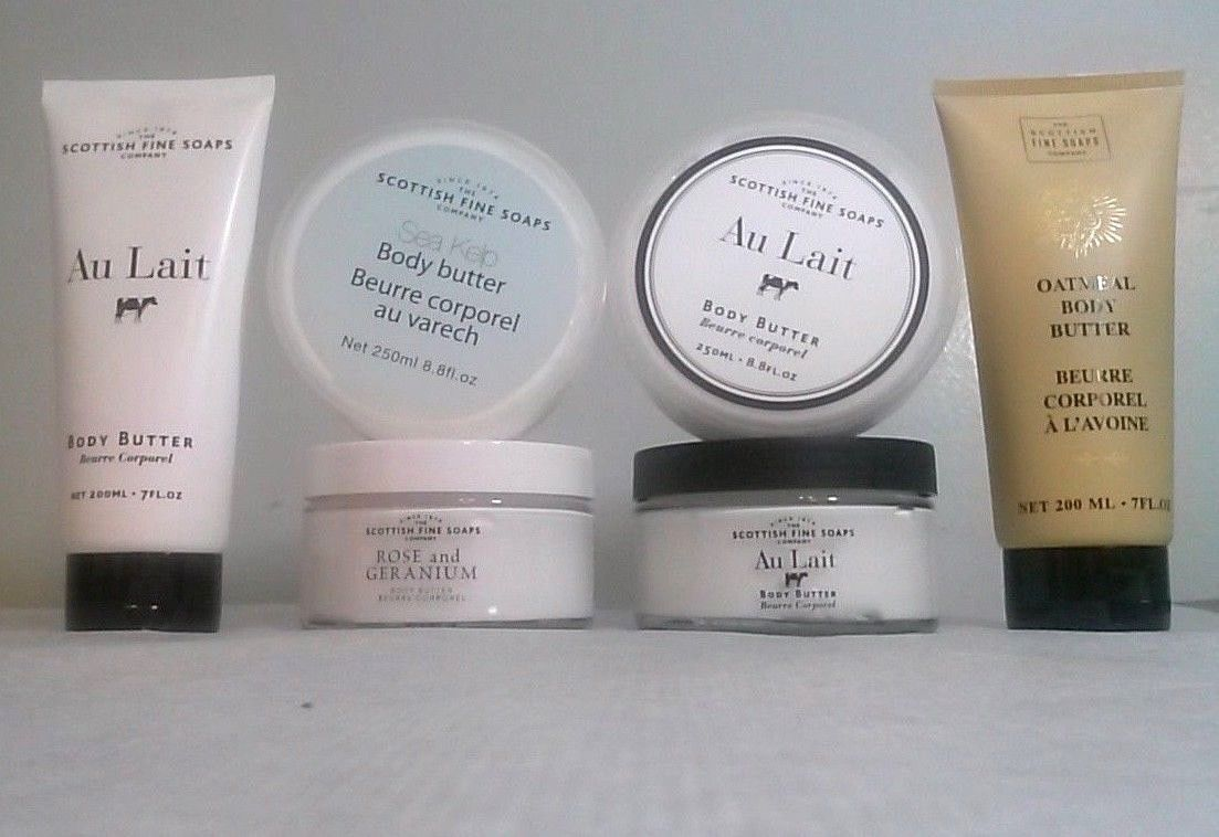 Primary image for The Scottish Fine Soaps Company Body Butter YOU CHOOSE tube jar