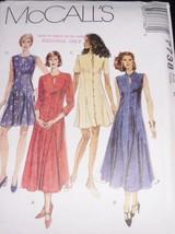 Sexy Plus McCall 7738 Dresses Key-Hole Neckline - $7.99