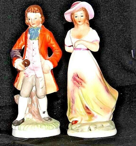 Man and WomanFigurines Vintage  AA18-1114