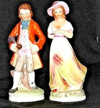 Man and Woman Figurines Vintage  AA18-1114
