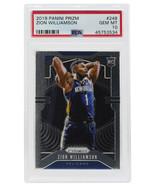 Zion Williamson Duke Slabbed 2019 Prizm #248 Basketball Card Gem Mint 10... - $969.99