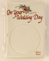 ASE On Your Wedding Day 2X3, Coin Display - ASE Snap Lock Holder, 3 pack - $5.89