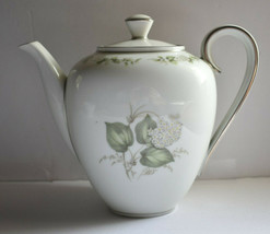 "Franconia Krautheim China Summer Bloom Coffee Tea Pot Bavaria Germany 7"" - $14.85"