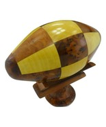 Decorative wooden collection ball,Thuya wooden US football game from Mor... - $73.52