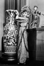Anna May Wong Full Length by Chinese Vase Classic B/W Pose 24x18 Poster - $23.99